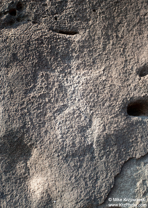 Hawaiian Petroglyphs in Makaha, Oahu