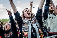 Exodus paa Helviti. Copenhell 2018 p&aring; Refshale&oslash;en i K&oslash;benhavn. Fire dage med rock, metal og dedikerede fans.<br /> <br /> Copenhell 2018 on Refshale Island in Copenhagen. Four days of rock, metal and dedicated fans.<br /> <br /> Foto: Jens Panduro<br /> <br /> Copenhagen, Copenhell, musikfestival, festival, musik, rockmusik, metal, hardcore, thrashmetal, punk, punkrock, metalcore, Refshale&oslash;en, Reffen, koncerter, rockkoncerter., Music Festival, Music, Rock Music, Thrash Metal, Refshale Island, Concerts, Rock Concerts.