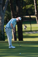 Robert Macintyre (SCO) in action on the 2nd hole during the third round of the 76 Open D'Italia, Olgiata Golf Club, Rome, Rome, Italy. 12/10/19.<br /> Picture Stefano Di Maria / Golffile.ie<br /> <br /> All photo usage must carry mandatory copyright credit (© Golffile | Stefano Di Maria)