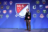 Philadelphia, PA - Thursday January 18, 2018: Nashville MLS Organizing Committee Co-Founder Will Alexander. The 2018 MLS League Meetings were held at the Philadelphia Marriott Downtown.