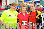 Pictured at the Carers 10k run on Sunday were l-r: Vicky McCarthy, Niamh Callaghan and Leanne McCarthy.