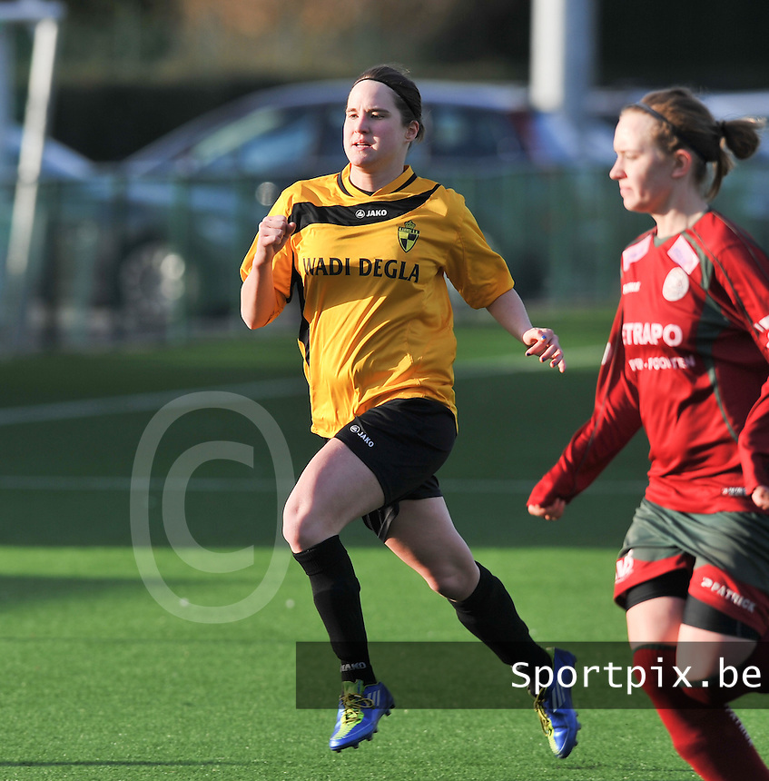 Dames Zulte Waregem - SK Lierse WD : Kristien Elsen.foto DAVID CATRY / Vrouwenteam.be