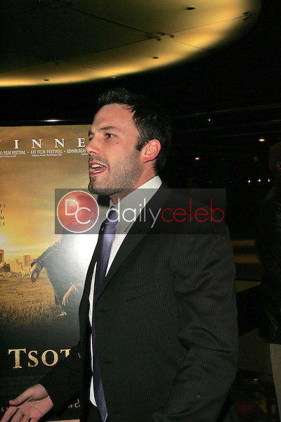 Ben Affleck<br />