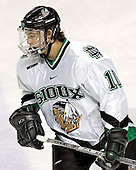 Andrew Kozek - The University of Minnesota Golden Gophers defeated the University of North Dakota Fighting Sioux 4-3 on Saturday, December 10, 2005 completing a weekend sweep of the Fighting Sioux at the Ralph Engelstad Arena in Grand Forks, North Dakota.