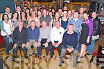 The 1991 leaving cert class of Killorglin Community College pictured with their teachers Jimmy Foley, Tom Curran, Mick O'Connell, Jerry Meehan and Tony Lyons, as they held their reunion in Bunkers Bar, Killorglin on Saturday night.