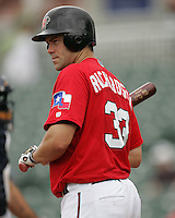 Frisco Rough Riders Kevin Richardson during the 2007 AA Texas League Season. Photo by Andrew Woolley / Four Seam Images.