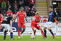 Ben Halloran (Fortuna) bereitet das 0:2 vor - FSV Frankfurt vs. Fortuna Düsseldorf, Frankfurter Volksbank Stadion