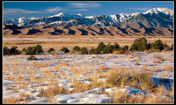 "Great Sand Dunes National Park, from John's 3rd book, ""Mastering Nature Photography"".<br />
