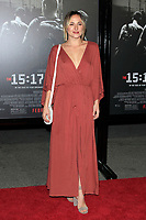 "LOS ANGELES - FEB 5:  Briana Evigan at the ""The 15:17 To Paris"" World Premiere at the Warner Brothers Studio on February 5, 2018 in Burbank, CA"