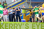 Eamonn Fitzmaurice, Kerry in action against  , Clare in the Munster Senior Championship Semi Final in Cusack Park, Ennis on Sunday.