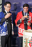 Spanish bullfigther Francisco Rivera and the Japanese Ambassador to Spain, Mr. Kazuhiko Koshikawa attend the 55th Gran Seiko Premium Collection anniversary.June 18,2015. (ALTERPHOTOS/Acero)
