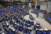 6. Sitzung des Deutschen Bundestag am Mittwoch den 17. Januar 2018.<br /> Im Bild: Die Abgeordneten stimmen ueber die Einsetzung eines Antisemitismus-Beauftragten ab. Unklar ist jedoch, ob der Beauftragte im Kanzleramt oder bei einem Ministerium angesiedelt wird.<br /> 17.1.2018, Berlin<br /> Copyright: Christian-Ditsch.de<br /> [Inhaltsveraendernde Manipulation des Fotos nur nach ausdruecklicher Genehmigung des Fotografen. Vereinbarungen ueber Abtretung von Persoenlichkeitsrechten/Model Release der abgebildeten Person/Personen liegen nicht vor. NO MODEL RELEASE! Nur fuer Redaktionelle Zwecke. Don't publish without copyright Christian-Ditsch.de, Veroeffentlichung nur mit Fotografennennung, sowie gegen Honorar, MwSt. und Beleg. Konto: I N G - D i B a, IBAN DE58500105175400192269, BIC INGDDEFFXXX, Kontakt: post@christian-ditsch.de<br /> Bei der Bearbeitung der Dateiinformationen darf die Urheberkennzeichnung in den EXIF- und  IPTC-Daten nicht entfernt werden, diese sind in digitalen Medien nach &sect;95c UrhG rechtlich geschuetzt. Der Urhebervermerk wird gemaess &sect;13 UrhG verlangt.]