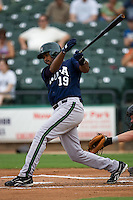 Gonzalez, Andy 3035.jpg.  PCL baseball featuring the New Orleans Zephyrs at Round Rock Express  at Dell Diamond on June 19th 2009 in Round Rock, Texas. Photo by Andrew Woolley.