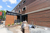 Major Renovation Litchfield Hall WCSU Danbury CT<br /> Connecticut State Project No: CF-RD-275<br /> Architect: OakPark Architects LLC  Contractor: Nosal Builders<br /> James R Anderson Photography New Haven CT photog.com<br /> Date of Photograph: 26 June 2017<br /> Camera View: 04 - West Elevation, South End