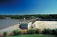Hydroelectric plant at Holt Lock & Dam, Alabama. Holt Alabama, Holt Lock & Dam.
