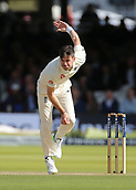 9th September 2017, Lords Cricket Ground, London, England; International test match series, third test, Day 3; England versus West Indies; England Bowler James Anderson in action