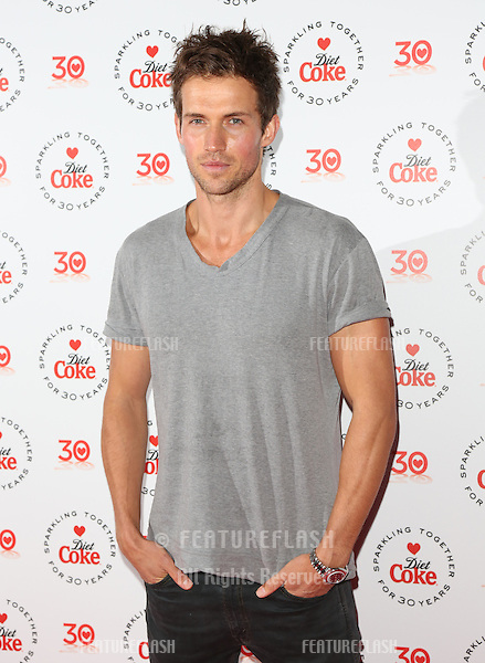 Andrew Cooper, Diet Coke hunk at the Diet Coke 30th anniversary party held at Sketch, London. 30/01/2013 Picture by: Henry Harris / Featureflash