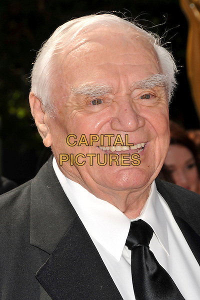 ERNEST BORGNINE .61st Annual Creative Arts Emmy Awards held at Nokia Theatre LA Live, Los Angeles, California, USA, .12th September 2009..emmys portrait headshot black tie smiling .CAP/ADM/BP.©Byron Purvis/Admedia/Capital Pictures