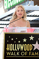 LOS ANGELES - MAY 4:  Kate Hudson at the Kurt Russell and Goldie Hawn Star Ceremony on the Hollywood Walk of Fame on May 4, 2017 in Los Angeles, CA