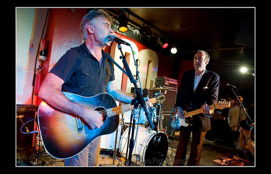 Glen Matlock & Mick Jones - Making the Modern Scene 2 - Terry Rawlings Benefit - 100 Club - 27-07-2009