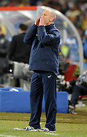 USA manager Bob Bradley. Brazil defeated USA 3-2 in the FIFA Confederations Cup Final at Ellis Park Stadium in Johannesburg, South Africa on June 28, 2009.