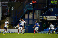 Joe Jacobson of Wycombe Wanderers during the FA Cup 1st round match between Portsmouth and Wycombe Wanderers at Fratton Park, Portsmouth, England on the 5th November 2016. Photo by Liam McAvoy.