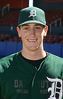 March 23, 2010:  Pitcher Kyle Hendricks of the Dartmouth Big Green after a game at the Chain of Lakes Stadium in Winter Haven, FL.  Photo By Mike Janes/Four Seam Images
