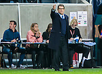Solna 2014-10-09 Fotboll EM-kval , Sverige - Ryssland :  <br /> Rysslands f&ouml;rbundskapten head coach Fabio Capello gestikulerar<br /> (Photo: Kenta J&ouml;nsson) Keywords:  Sweden Sverige Friends Arena EM Kval EM-kval UEFA Euro European 2016 Qualifier Qualifiers Qualifying Group Grupp G Ryssland Russia portr&auml;tt portrait tr&auml;nare manager coach