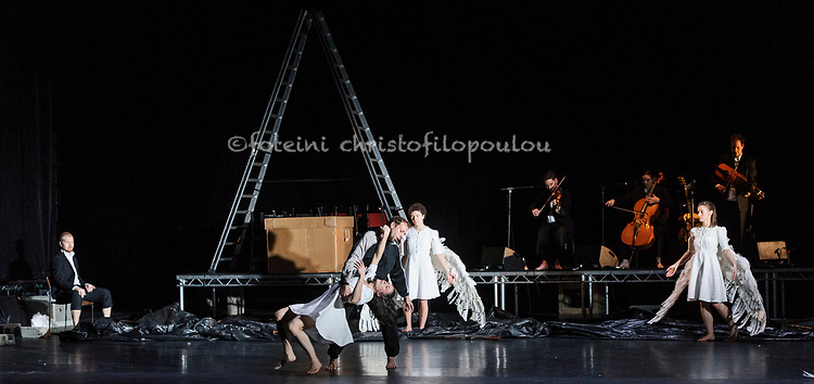 London, UK. 30.11.2017. Michael Keegan-Dolan's Swan Lake/Loch na hEala returns to Sadler's Wells, 30 Nov - 2 Dec. Photo - © Foteini Christofilopoulou.