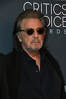 12 January 2020 - Santa Monica, California - Al Pacino. 25th Annual Critici's Choice Awards - Press Room held at Barker Hangar. Photo Credit: Birdie Thompson/AdMedia