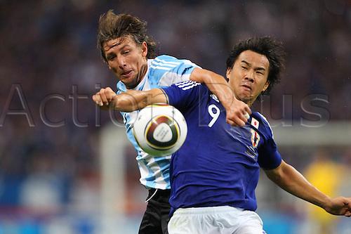 ShinjiOkazaki (JPN), .OCTOBER 8, 2010 - Football : .KIRIN Challenge Cup 2010 .between Japan 1-0 Argentina  .at Saitama Stadium 2002, Saitama, Japan. .