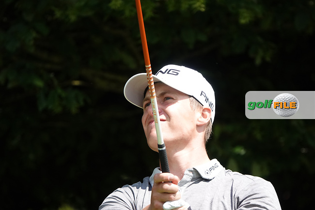 Calum Hill (SCO) in action during the third round of the Hauts de France-Pas de Calais Golf Open, Aa Saint-Omer GC, Saint- Omer, France. 15/06/2019<br /> Picture: Golffile | Phil Inglis<br /> <br /> <br /> All photo usage must carry mandatory copyright credit (© Golffile | Phil Inglis)