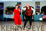 Padraig McCrohan and Mary Fitzgerald dancing at Sickly Come Dancing, UHK, at Ballygarry House Hotel & Spa, Tralee on Friday night last.