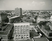 1960 August 2..Redevelopment.Downtown North (R-8)..Downtown Progress..North View from VNB Building..HAYCOX PHOTORAMIC INC..NEG# C-60-5-37.NRHA#..