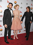 LOS ANGELES, CA - JANUARY 12: Hugh Jackman, Nicole Kidman and Keith Urban attend the 2013 G'Day USA Black Tie Gala at JW Marriott Los Angeles at L.A. LIVE on January 12, 2013 in Los Angeles, California.