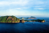 West Nusa Tenggara, Sumbawa. West coast of Sumbawa looking east (from helicopter).