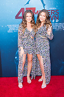 Los Angeles, CA - AUGUST 13th: <br /> D'Ambrosio Twins attends the 47 Meters Down: Uncaged premiere at the Regency Village Theater on August 13th 2019. Credit: Tony Forte/MediaPunch