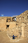 Judea, Herodion, built by Herod the Great as a fortified palace, the stairway to the cisterns