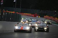 #20 GPX RACING (UAE) PORSCHE 911 GT3 R KEVIN ESTRE (FRA) MICHAEL CHRISTENSEN (DNK) RICHARD LIETZ(AUT) WINNING LAP TOTAL 24H OF SPA