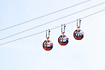 Cable Cars In Haifa