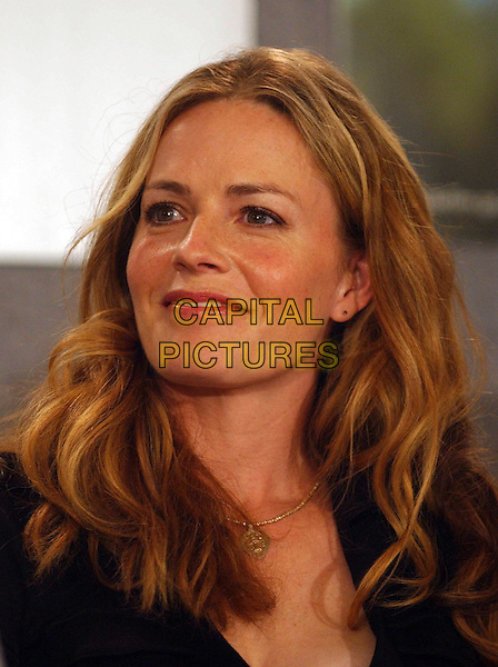 "ELISABETH SHUE.""Dreamer"". .Press conferences held at Sutton Place for the 2005 Toronto Film Festival, Toronto, Canada..September 10th, 2005.Photo Credit: Laura Farr/Admedia.headshot portrait .www.capitalpictures.com.sales@capitalpictures.com.© Capital Pictures."