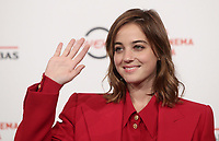 L'attrice Beatrice Grannò posa durante il  photocall 'Tornare' alla 14^ Festa del Cinema di Roma all'Aufditorium Parco della Musica di Roma, 26 ottobre 2019. <br /> Italian actress Beatrice Grannò poses for a photocall to present  'Tornare' during the 14^ Rome Film Fest at Rome's Auditorium, on 26 October 2019.<br /> UPDATE IMAGES PRESS/Isabella Bonotto