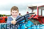 Enjoying the Abbeydorney Vintage rally on Sunday were Devon Parkinson from Tarbert