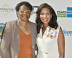 MIAMI GARDENS, FL - MAY 12: Barbara J. Jordan-Miami- Dade County Commissioner and Dr. Roslyn Clark Artis - President of Florida Memorial University attends the Opening of  Florida Memorial University's  Multi-Purpose Arena and Wellness Education Center and the Launch of their Health Matters Movement at Florida Memorial University on Thursday May 12, 2016 in Miami Gardens, Florida.  ( Photo by Johnny Louis / jlnphotography.com )