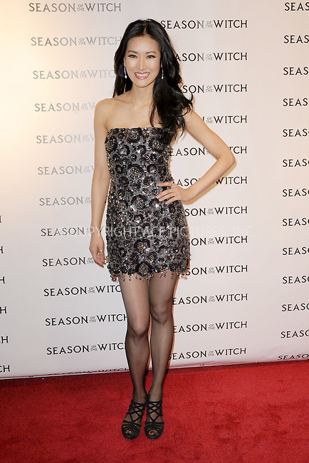 WWW.ACEPIXS.COM . . . . . .January 4, 2011, New York City....Kelly Choi attends the New York Premiere of Season of the Witch on January 4, 2011 in New York City....Please byline: KRISTIN CALLAHAN - ACEPIXS.COM.. . . . . Ace Pictures, Inc: ..tel: (212) 243 8787 or (646) 769 0430..e-mail: info@acepixs.com..web: http://www.acepixs.com .