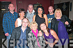 Hanna Healy, Mitchell's, Tralee (seated centre) had a fab night in the Slievemish bar, Tralee celebrating her 78th birthday last Saturday night, also seated is Danny Healy (lt) and Margaret Healy (rt). Back l-r: Chris Martin, Jacqueline Healy, Martin O'Neill, Claire Walsh, Pa Foran and Ann Walsh.