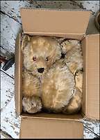 BNPS.co.uk (01202 558833)<br /> Pic: PhilYeomans/BNPS<br /> <br /> The bears arrive from all over the world.<br /> <br /> Broken bears and deteriorating dolls from all over the world are being brought back to life by a UK team of dedicated doctors and nurses at one of the last remaining toy hospitals.<br /> <br /> The team at Alice's Bear Shop, a teddy bear and doll hospital in Lyme Regis, Dorset, perform all kinds of 'surgery' from simple restringing and re-stuffing to head re-attachments and complete skin grafts.<br /> <br /> Rikey Austin, 49, opened the hospital in January 2000 but also ran a shop and only repaired one or two toys a month.<br /> <br /> Now she has a four-month waiting list for patients and has had to close the shop to focus on the hospital side of the business.