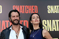 """LOS ANGELES - MAY 10:  Stefan Kapicic, Ivana Horvat at the """"Snatched"""" World Premiere at the Village Theater on May 10, 2017 in Westwood, CA"""