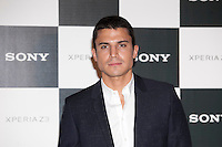 Spanish actor Alex Gonzalez poses during Sony promotion event photocall in Madrid, Spain. October 09, 2014. (ALTERPHOTOS/Victor Blanco)