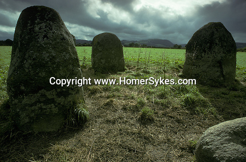 The Four Stones, Nr Old Radnor, Powys, Wales. Mysterious Britain published by Orion